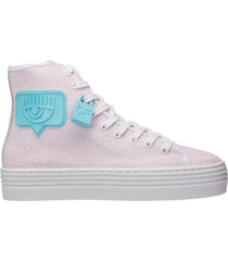 scarpe sneakers alte donna eyelike