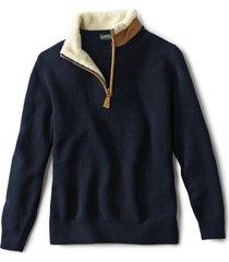 stowe quarter-zip sweater