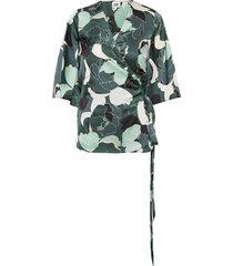 alina blouse blouses short-sleeved groen twist & tango