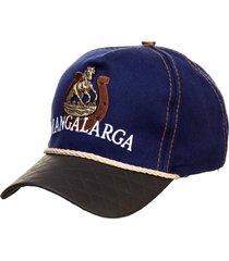 boné country mangalarga masculino kapell azul.