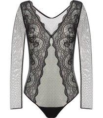 body's selmark lorena bodysuit met lange mouwen