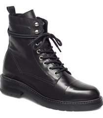 charley shoes boots ankle boots ankle boot - flat svart pavement