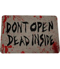 capacho ecológico dont open dead inside geek10 bege