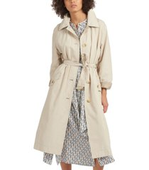 barbour millford trench coat
