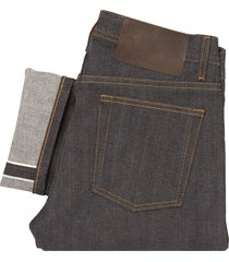 naked and famous denim indigo weird guy - left hand twill selvedge denim jeans 012773