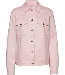 ranta solid jacket jeansjack denimjack roze marimekko