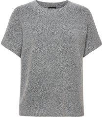 5210 - izadi t-shirts & tops knitted t-shirts/tops grå sand