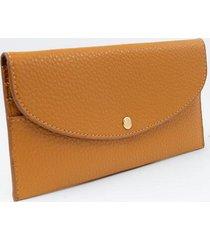 pixie snap wallet - cognac
