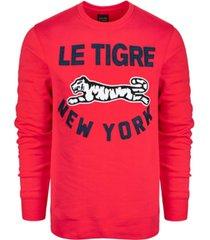 le tigre men's yates crew neck sweatshirt