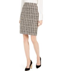 calvin klein sequined tweed skirt