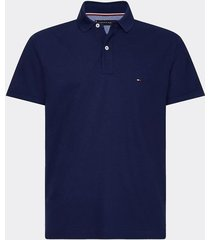 polo core tommy regular fit azul tommy hilfiger