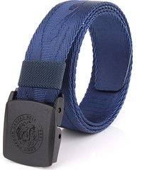 cintura di sicurezza tattica militare con cinturino esterno in nylon multicolore