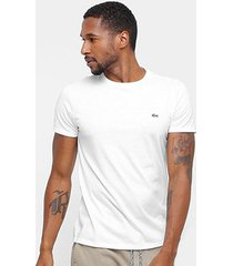 camiseta lacoste básica jersey masculina - masculino