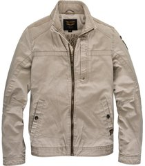 pme legend korte beige zomerjas slim fit