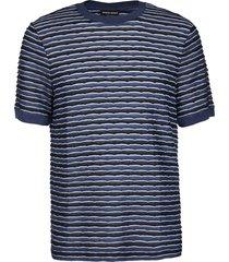 blue viscose t-shirt