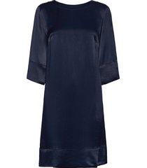 aurore dress kort klänning blå morris lady