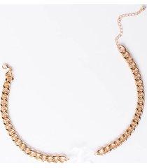 akira acrylic k initial necklace