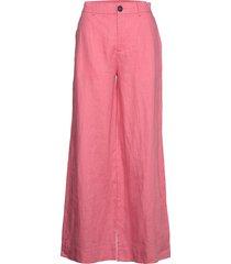 maria trousers wijde broek roze twist & tango