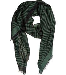 emporio armani lanyard swallow wool scarf