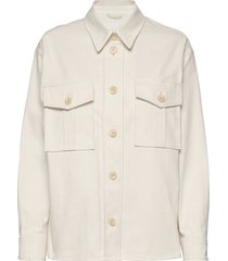 sealiner shirt overhemd met lange mouwen crème fall winter spring summer