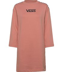 chromo ii dress knälång klänning rosa vans