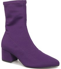 mya shoes boots ankle boots ankle boot - heel lila vagabond