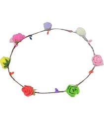 balaca multicolor flores sasmon ac-10353
