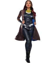 buyseasons avengers deluxe gamora coat adult costume