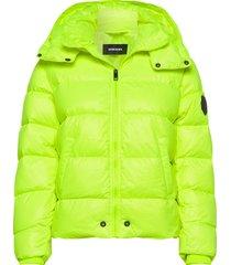 jian jacket gevoerd jack geel diesel
