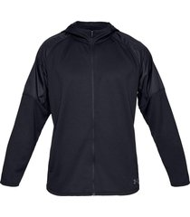 chaqueta under armour mk1 terry fz-negro-negro-negro