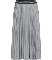 skirts knitted knälång kjol grå esprit casual