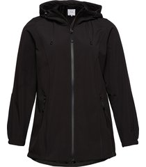 softshell jacket water repellent soft and warm zomerjas dunne jas zwart zizzi