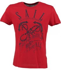 gas rood slim fit t-shirt