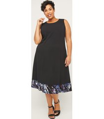 black label a-line dress