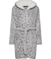 decoy robe w/hood morgonrock grå decoy