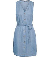 denimklänning vmviviana sl short dress