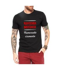 camiseta criativa urbana namorada ciumenta frases engraçadas