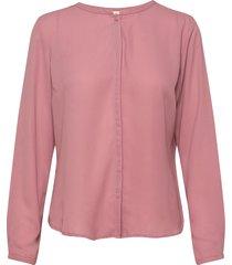 cyler shirt blus långärmad rosa modström