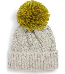 women's topshop chevron knit beanie hat -