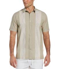 cubavera ecoselect paneled shirt