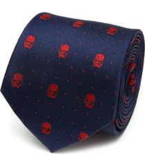 star wars stormtrooper navy men's tie