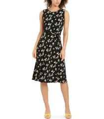 charter club sleeveless printed a-line dress, created for macy's