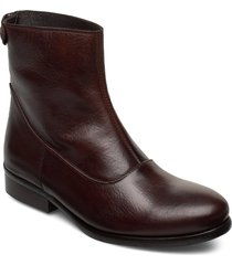 boots 82990 shoes boots ankle boots ankle boot - flat brun carla f