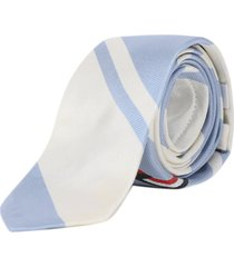 thom browne tennis ball tie