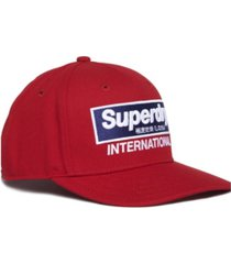 superdry international b-boy cap