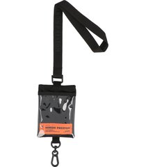heron preston passport key chain holder
