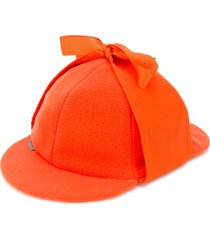 anglozine don deerstalker hat - orange
