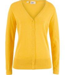 cardigan (giallo) - bpc bonprix collection