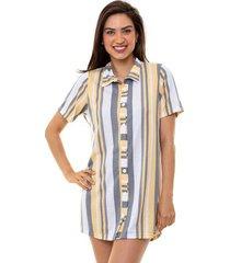 camisola camisão americano listrado feminino luna cuore