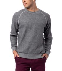 alternative apparel men's champ eco-teddy fleece sweatshirt